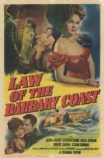 LAW OF THE BARBARY COAST Movie POSTER 27x40 Gloria Henry Stephen Dunne Adele