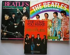 ♫ THE BEATLES 3 Beatles books - some rare - OOP - in good condition - lot 1 ♫