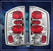 2002-2006 DODGE RAM 1500 2500 3500 PICKUP TAIL LIGHTS LAMP CHROME 2003 2004 2005