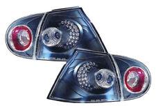 Rear Tail Lights Lamp Indicator Black Smoke LED Pair For VW Golf Mk5 V 04-09-On