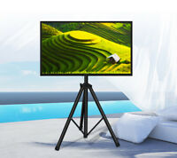 New Portable Flat Panel Monitor Stand with Foldable Tripod TV Stands USA SELLER