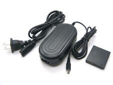 AC Power Adapter For Panasonic Lumix DMC-F2 DMC-F3 DMC-F4 DMC-FH1 DMC-FH3