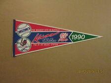 Buffalo Bisons Vintage 1990 Kiss 98.5 FM Logo Pennant