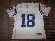 Peyton Manning #18 Indianapolis Colts Super Bowl Reebok NFL Jersey Womens LG L