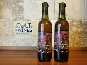 2007 Pasos Reserve Late Harvest Viognier Dessert wine, Lodi - Lot of 2