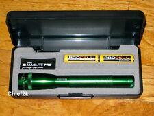 MAGLITE AA PRO LED GREEN 2 Cell Flashlight Maglight 272 Lumens