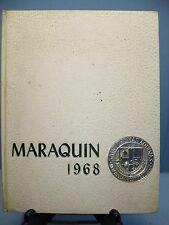 1968 Maraquin, Saint Thomas Aquinas High School, New Britain, Conn Yearbook