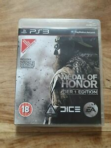 Medal of Honor Tier 1 Edition (Sony PlayStation 3, 2010)