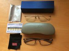 Lot de 2 paires de lunettes de vue (marques Ray-ban et Charmant)