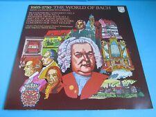 THE WORLD OF BACH VINYL RECORD I MUSICI SZERYNG LEPPARD PHILIPS 6830 004