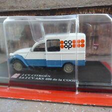 Citroën 2CV AKS 400 Fourgonnette 1970  COOP 1/43 EDITIONS HACHETTE