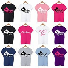 PERSONALISED HEN DO / NIGHT T SHIRTS, ...'s HEN PARTY Funny T Shirt Tee Top GOLD