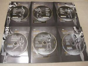 HAMMER AND CHISEL 6 DVD BOX SET NEW FITNESS EXERCISE STRENGTH MASTERS STRONG ONE