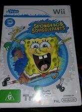 Spongebob Squigglepants NINTENDO WII - FREE POST