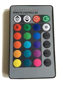 REMOTE CONTROL ONRGB 3W MR16 16 Colors LED Magic Light Bulb Lamp Spotlight+IR
