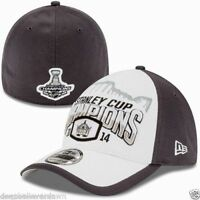 New Era 39Thirty Los Angeles Kings 2014 Stanley Cup Champs Locker Room Hat Cap