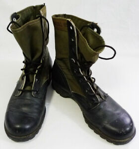 Vintage US Army Issue Military Combat Jungle Boots size 5R