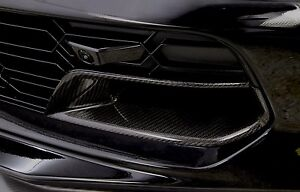 C7 Stingray Z06 Grand Sport Corvette Carbon Fiber Front Brake Duct Inserts
