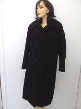 MINT BLACK PERSIAN LAMB FUR COAT JACKET WOMEN WOMAN SIZE 6-8 SMALL