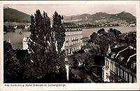 Bad Godesberg AK ~1950/60 Hotel Dreesen mit Siebengebirge Panorama ungelaufen
