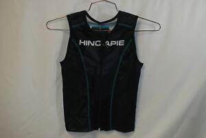 Hincapie Cycling Women's Sleeveless Jersey Medium Black/Blue Top Triathlon NEW