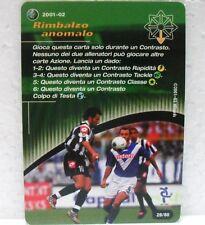 FOOTBALL CHAMPIONS Italiano 2001-02 - RIMBALZO ANOMALO - azione 28/80 DEL PIERO