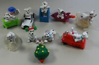 Disney 102 Dalmatians McDonalds Figures Lot of 10 Happy Meal Toys Collection