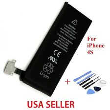 New Internal Replacement 3.7V Li-ion Battery For iPhone 4S 1430mah Tools
