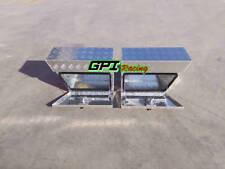 """Pair Aluminium Undertray Under Tray Underbody Ute Tool Box toolbox 24""""x10""""x16"""""""