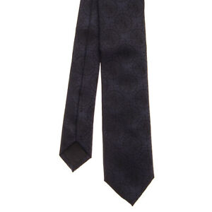 RRP €130 RICHMOND Silk Jacquard Necktie Patterned Fully   Made in Italy
