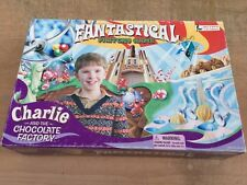 RARE! Charlie And The Chocolate Fantastical Factory Board Game Johnny Depp Film