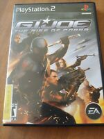 GI Joe The Rise of Cobra Sony PlayStation 2 PS2 2009 Complete W/ Manual