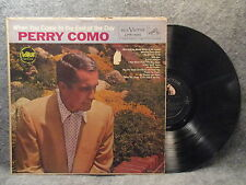 33 RPM LP Record Perry Como When You Come To The End Of The Day RCA LPM-1885