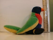 Wildlife Artists Amazon Parrot 6 Inch Plush Stuffed Animal Toy 1998