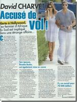Coupure de presse Clipping 2010  - David CHARVET - ( 1 page)