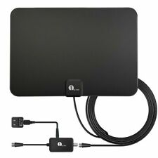 1byone Amplified HDTV Antenna - 50 Mile Range with Detachable Amplifier USB