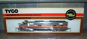 TYCO MILWAUKEE ROAD CHROME E-7 DIESEL NOS OLD STORE STOCK IN BOX MINT!