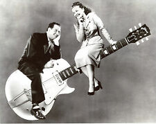 Les Paul and Mary Ford 8x10 photo T4262