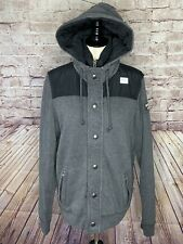 Abercrombie Men's SZ L Cotton Knit Jacket w/insulated puffer inner *SHIPS FREE*