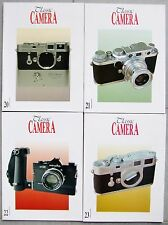 Classic Camera rivista. 4 x questioni. 20, 21, 22 & 23 Leica Rollei, Contax, ecc.
