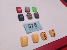 10X LEGO 30602 SLOPE CURVED 2 X 2 LIP NO STUDS BUNDLE CITY CREATOR SPARES #526