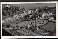 Unknown Location - Aerial View of The White Horse Pub and a Caravan Park A6641