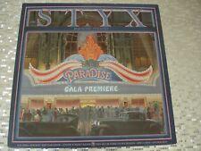 "Styx – ""Paradise Theatre"" LP    A&M Records SP-3719 laser etched, ""STYX"" logo"