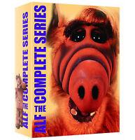 Alf: The Complete Series 1-4 Season 1 2 3 4 DVD 16-Disc Box Set | BRAND NEW