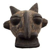 Maschera Africano Passaporto IN Miniatura Divinatorio Fetish Tribale Etnico 6509