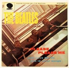 THE BEATLES PLEASE PLEASE ME 1964 RARE GERMAN EXPORT MILITARY LP ODEON ZTOX 5550