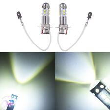 NEW 2x H3 6000K White  50W High Power LED Fog Light Driving Bulb DRL #2