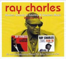 RAY CHARLES - MODERN SOUND IN COUNTRY & WESTERN MUSIC VOLUMES 1 & 2 (NEW 2CD)