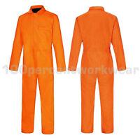 Aqua Orange Welders Welding Flame Retardant Cotton Overalls Coverall Boiler Suit