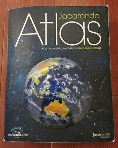 Atlas for the Australian Curriculum Eighth Edition Text Book by Jacaranda